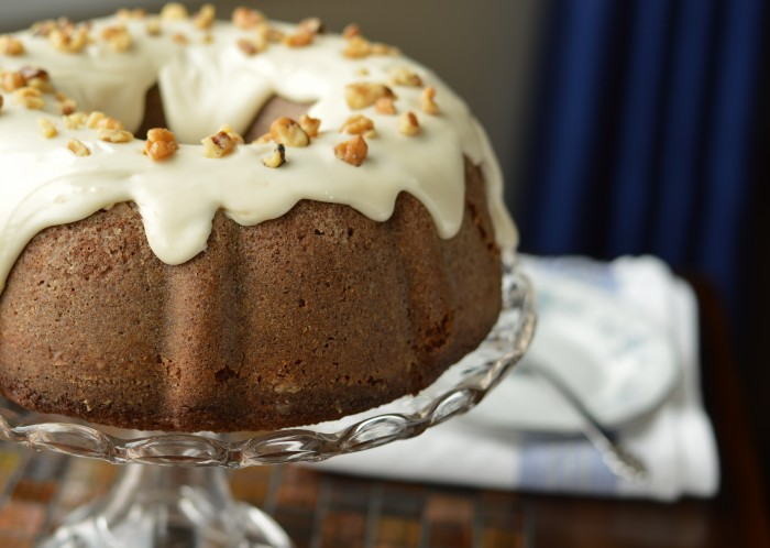 Puddin 'N Tater cake