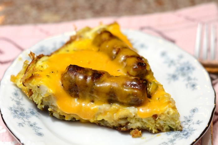 Sausage Potato slice