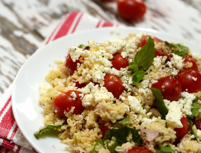 Mediterranean Chicken Couscous