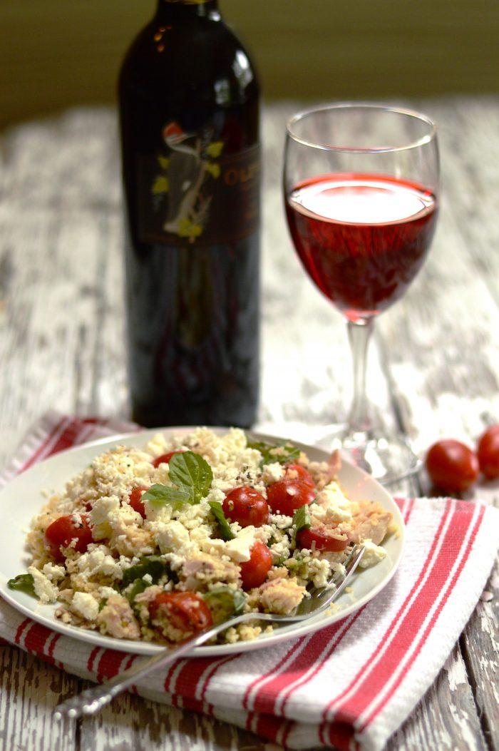 Mediterranean Chicken Couscous - www.swankykitchen.com