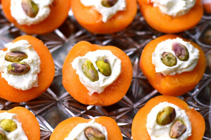 Savory Apricot Bites