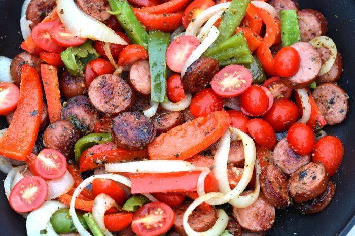 Smoked Sausage Stir-Fry