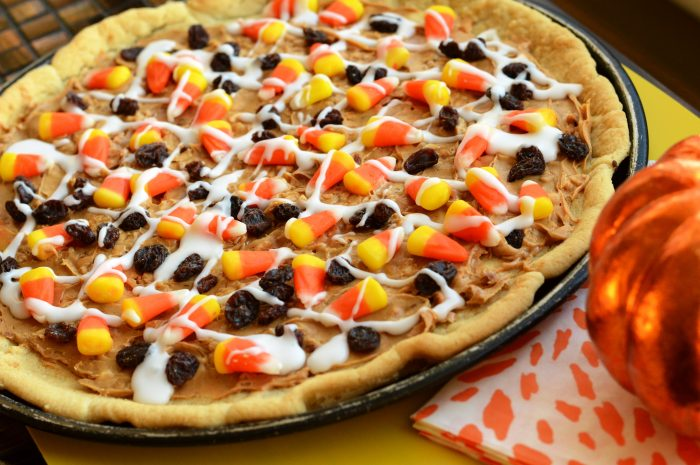 Candy Corn Cookie Pizza Swanky Kitchen