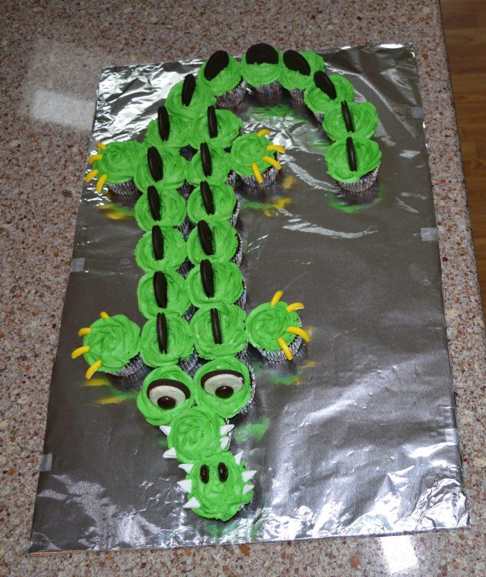 Alligator Birthday Cake Swanky Kitchen